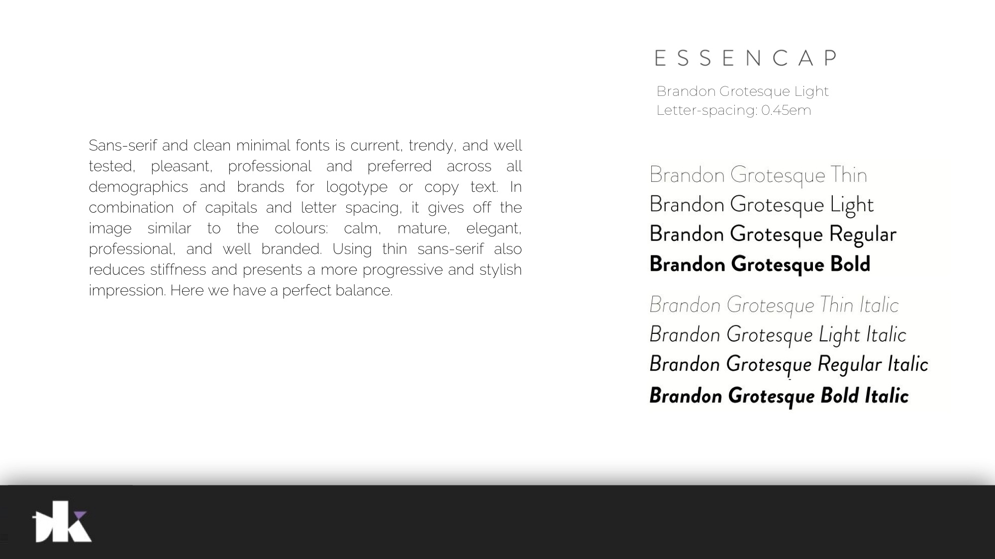 Essencap Branding Process 10